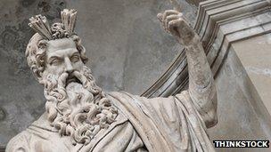 A statue of Zeus Zeus Greek God Statue