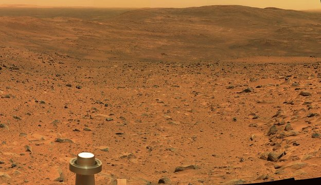 Early Mars atmosphere 'oxygen-rich'...