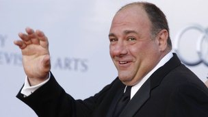 James Gandolfini in Los Angeles, California, on 9 July 2011