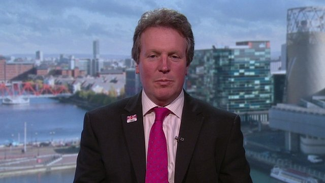 Adam Quinney, vice president of the National Farmers' Union