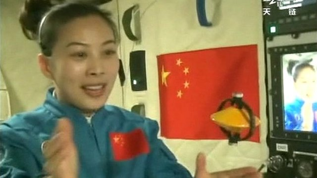 Chinese astronaut Wang Yaping