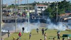 Clashes in Fortaleza, north-eastern Brazil (20 June)
