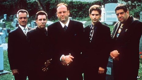 (l-r) Steve Van Zandt, James Gandolfini, Michael Imperioli and Tony Sirico