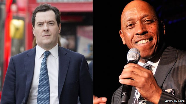 George Osborne and Jeffrey Osborne