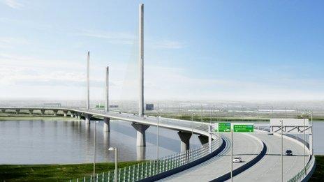 Mersey Gateway design