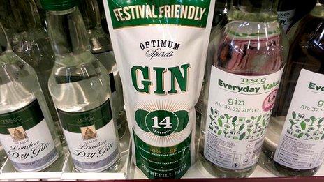Gin in a bag