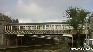 Torquay rail station. Pic: Network Rail