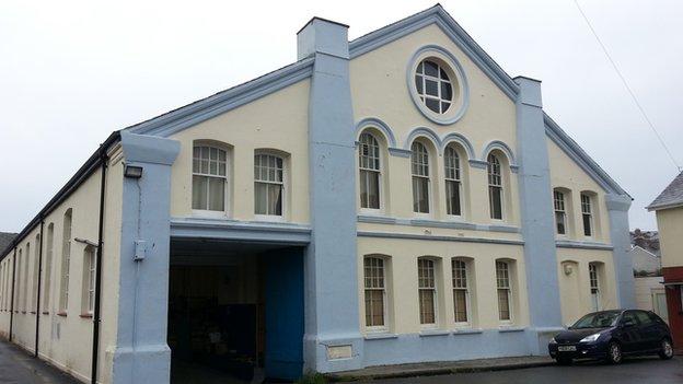 Aberystwyth drill hall