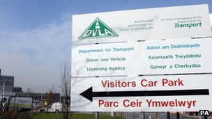 The DVLA is currently based in Swansea but serves the whole of the UK