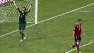 Fernando Torres's penalty