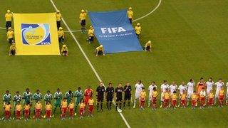 Nigeria v Uruguay
