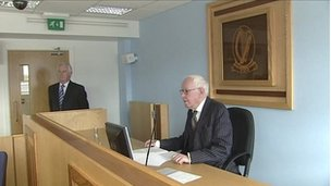 Tribunal chairman Peter Smithwick