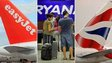 Easyjet, Ryanair and BA