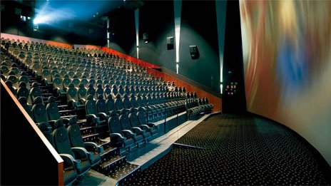 Interior of an Imax cinema