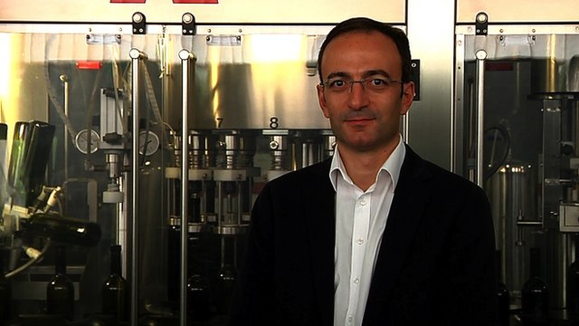 Wine merchant Giorgi Margvelashvili