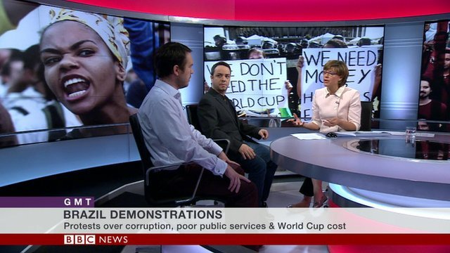 The BBC's GMT studio