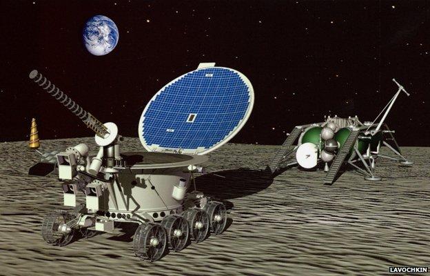 Lunokhod Moon rover