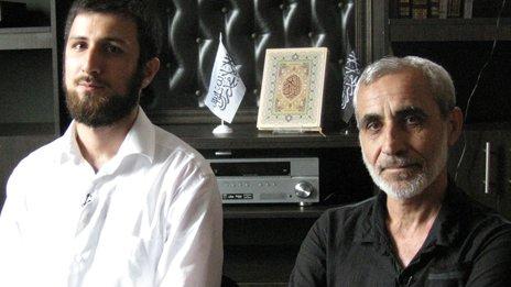 Mohammed Magomedov and Zukhum Zukhumov