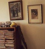Photograph of interior of Vivian Maier's house
