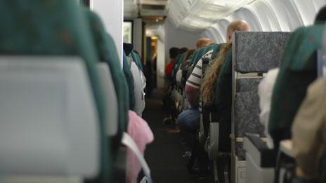 Cabin of aeroplane