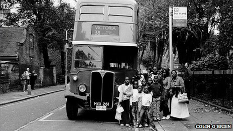 Last day of the old 38 Routemaster bus in Clapton Pond