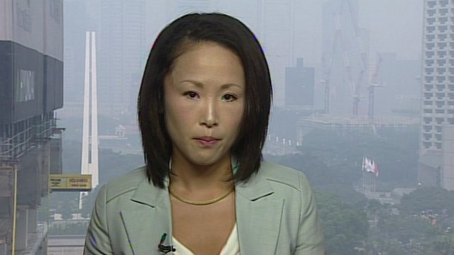 BBC News - Singapore explores smog legal options