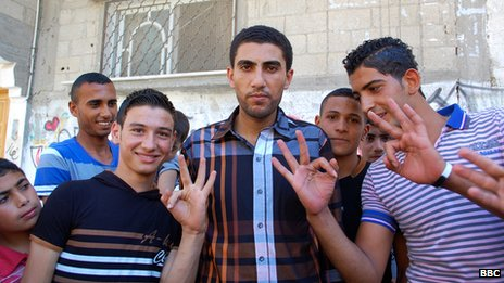 Palestinian fans of the show in the Gaza Strip, June 2013