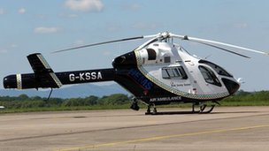 New helicopter for Kent, Surrey & Sussex Air Ambulance