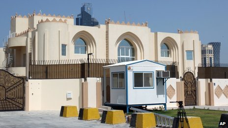 Taliban's Doha office, 20 June 2013