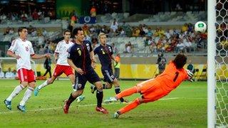 Japan score