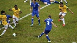 Italy score