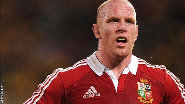 British & Irish Lions forward Paul O'Connell