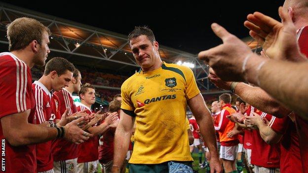 Australia captain James Horwill