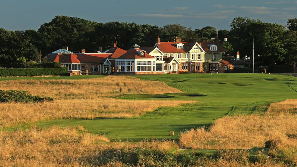 bbc sport muirfield open in pictures