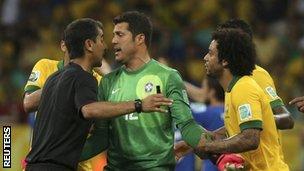Brazil v Italy
