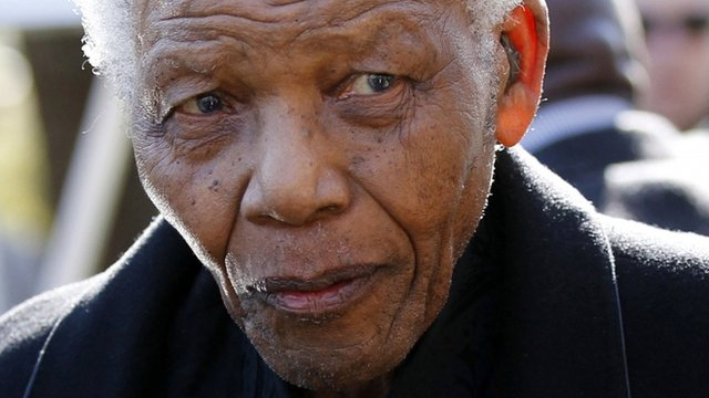 Nelson Mandela critically ill in hospital