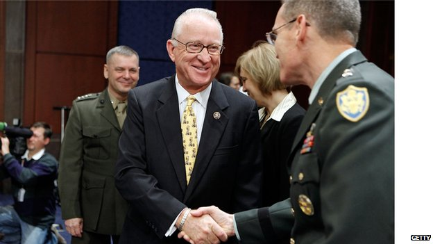 "Representative Howard ""Buck"" McKeon"
