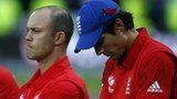 James Tredwell, Jonathan Trott, Alastair Cook
