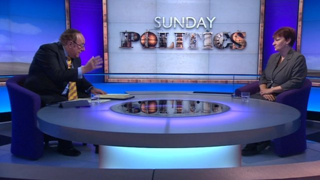 Andrew Neil and Christine Blower
