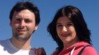 Chris Hall and Sarah Pitard