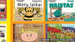 Lithuanian English language books