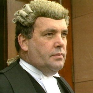 Lord Advocate Peter Fraser