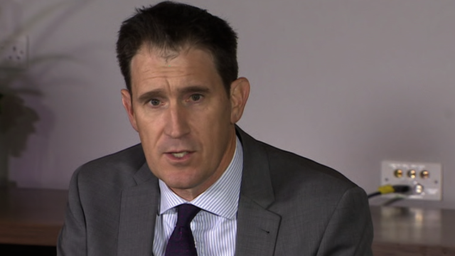 Cricket Australia CEO James Sutherland