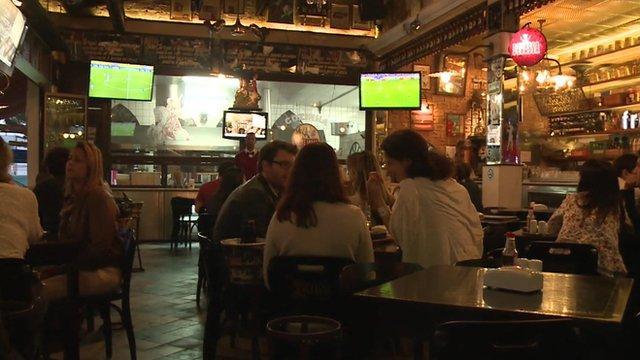 A bar