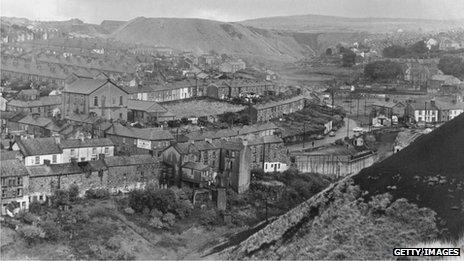 Ebbw Vale in 1966