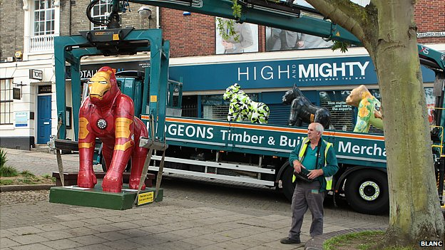 Iron Man Go Go Gorilla in Norwich