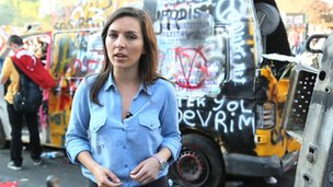 Selin Girit reports on Turkish protests