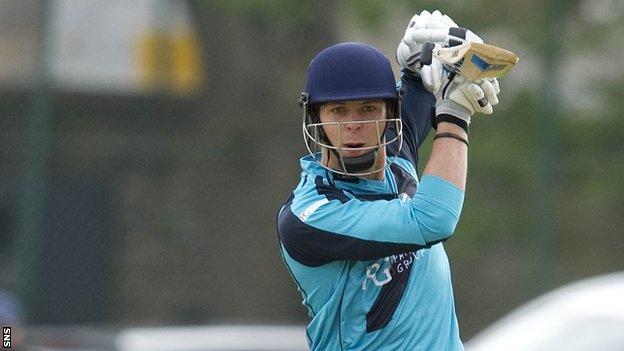 Scottish batsman Freddie Coleman