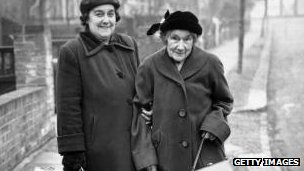 Pensioners in the 1950s