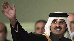 Qatar's Sheikh Tamim bin Hamad al-Thani